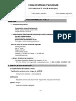 SDS Estearoil Lactilato de Sodio