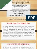 Derecho Empresarial Unsa
