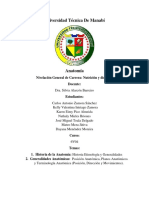 Informe de Exposicion Anatomia 1