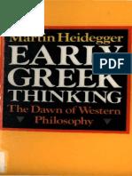 Heidegger Martin - Early Greek Thinking Harper Row-1975.pdf