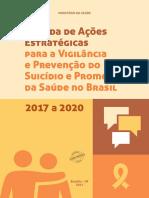 Agenda de Ações Estratégicas para a Vigilância e Prevenção do Suicídio e Promoção da Saúde no Brasil 2017 a 2020