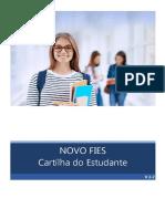 Cartilha NOVO FIES Aditamento Estudantes