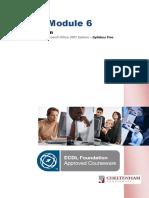 Module 6 Manual ICDL