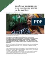 Entrevista Conceição Evaristo