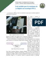 Construcción de Módulo Para La Enseñanza de Electrónica Digital Con Tecnología FPGA