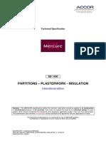 Mer We Db1400 Partitions Plasterwork Insulation