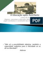 A Educação Após Auschwitz