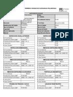 Planilla de Terreno Tanque de Sustancias Peligrosas [t 5244 Frp]