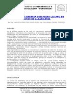 Disipador de energía con acero liviano en muros de Albañilería pdf.pdf