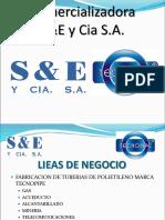 Presentación  Comercializadora S&E - TECNOPIPE
