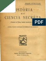 Henri Durville - Historia de la Ciencia Secreta