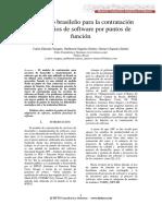 Puntos de Funcion Brasil Contratacion