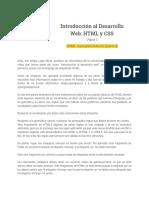 Parte I - 2.11 HTML