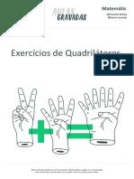 Extensivo Matematica Exercícios de Quadriláteros 279a1f1dbce510c107551cb4b47cf8c8