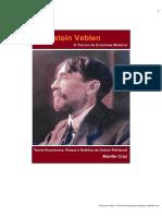 o Teórico da Economia Moderna- Veblen