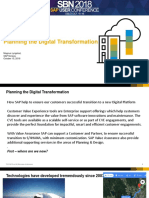 Planning the Digital Transformation