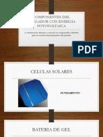 Componentes Del Cargador Con Energia Fotovoltaica