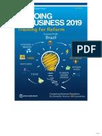 Doing Business 2019 - Relatório Banco Mundial - Ranking de Competitividade das Economias