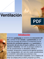 VENTILACION - CARGA TERMICA