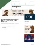 LISTA DE LAS PRINCIPALES PRODUCTORAS DE CINE ESPAÑOL. | El Blog de Cine Español