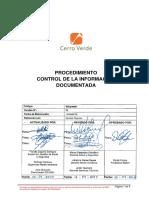 SGIpr0001_Control de La Información Documentada v02