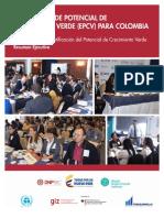 Evaluación de Potencial de Crecimiento Verde (EPCV) Para Colombia_Resumen