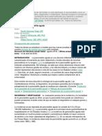 Etiologia de La Pancreatitis Aguda