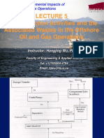 The Production Activities and the Offshore