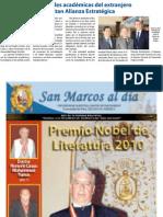 Visita a Universidad Nacional Mayor de San Marcos