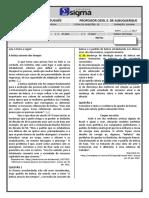 AVALIAÇÃO BIMESTRAL - 1ª SÉRIE 3º BIMESTRE.docx