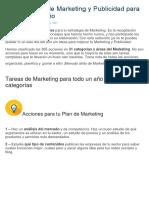 365 Acciones de Marketing y Publicidad Para Cada Día Del Año