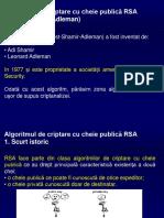 1 - RSA
