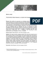 Tarefa infinita - Walter Benjamin e a relação entre linguagem e vida.pdf