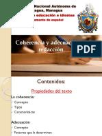 Magistral 12 Coherencia y Adecuación en La Redacción