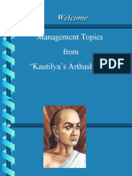 Principles of Management from Kautilya's Arthashastra for MBA students