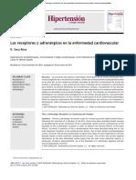 receptores b2adrenergicos en enfermedad cardiovascular