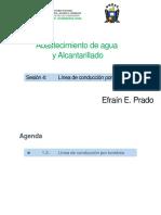 CLASE N° 04. ABASTECIMIENO DE AGUA Y ALC.