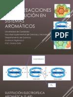 Reacciones Sistemas Aromaticos