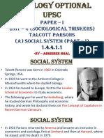 1.4.4.1.1 Social System - I