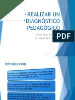 Como Realizar Un Diagnóstico Pedagógico Dos