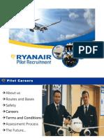 Ryanair Pilot Recruitment Presentation
