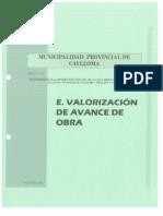 2.- VALORIZACION