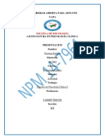 Practica de Psicologia Clinica Actividad II