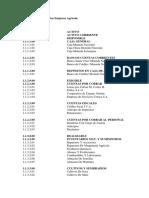 Ejemplo Plan de Cuentas Empresa Agrícola