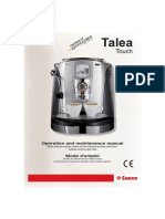 SaecoTalea Touch Manual