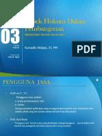 Modul 03 Aspek Hukum Dalam Pembangunan