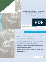 Encuesta Conflicto en La Araucanía Oct.17