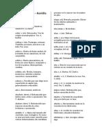 Diccionario Quechua Sureño Unificado