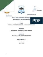 Instalacion de Programa