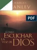 Stanley Charles - Como Escuchar La Voz De Dios.PDF